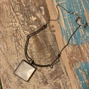 Lucky Brand Stone Necklace